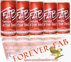 Forever Living FAB Boost Energy drink with Guarana Herb Extract