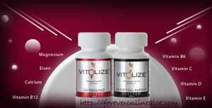 Forever Women's Men's Vitolize for vitality
