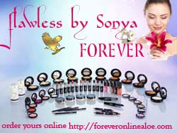 flawless-by-Sonya-Forever-Living-Aloe-beausty-products