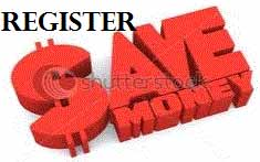 Register Forever Save Money