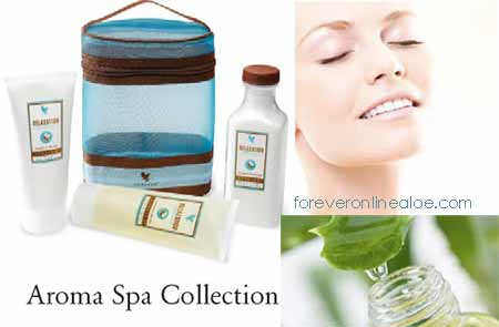 Forever Aloe Vera Spa Collection