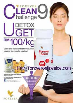 Cleanse body / Forever Clean 9 for Body detoxification